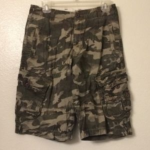 Marc ecko camouflage camo shorts cargo summer